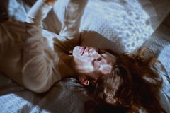 Michelle (Aboutlight_) Tags: naturallight light aboutlight analog 35mm portrait woman model