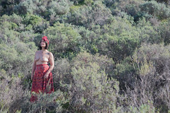 Stand out (Rushay) Tags: background beautiful breast nature red southafrica standing topless watching woman worcester