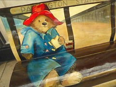 Paddington bear (JuliaC2006) Tags: bookbench paddington bear art station london
