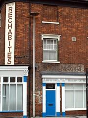 Rechabites (the justified sinner) Tags: justifiedsinner rechabites westbromwich midlands panasonic minolta rokkorx 45 2 md gx7 old sign