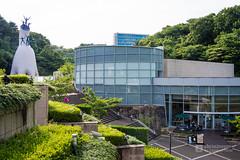 Exterior view of The Taro Okamoto Museum of Art Kawasaki (川崎市岡本太郎美術館) (christinayan01 (busy)) Tags: architecture building museum kawasaki japan kanagawa