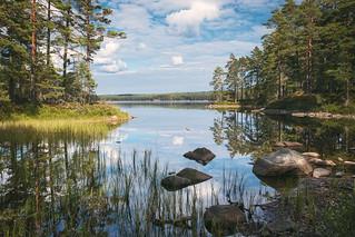 Lake Stora Trehörningen / Sweden