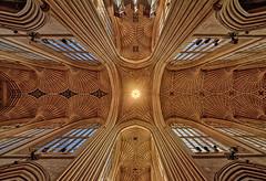 Bath Abbey (abtabt) Tags: unitedkingdom uk england bath georgianarchitecture architecture abbey church handheldhdr d700sigma1224 up ceiling