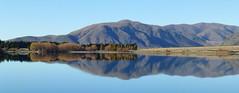 Lake Camp, Canterbury NZ (Shells Morris) Tags: newzealand lake landscape ngc southisland water reflection
