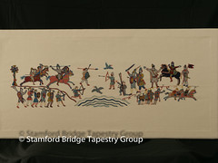 Panel 6 (Stamford Bridge Tapestry Project) Tags: tapestry stamfordbridge battleofstamfordbridge 1066 embroidery