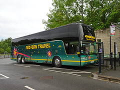Redfern 444RT Matlock (Guy Arab UF) Tags: redfern travel 444rt van hool t917 altano c53ft coach matlock railway station rail replacement bus service derbyshire buses yj10jyy