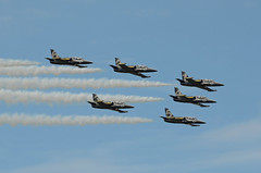 Breitling Jet Team Aero L-39 Albatro (EK056) Tags: breitling jet team aero l39 albatro aerobatic display kleine brogel air base ebbl belgian force days 09092018