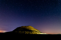 Night in Makhtesh Ramon, Negev desert, Israel (juliusm2011) Tags: landscape night israel desert stars