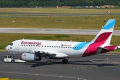Eurowings OE-LYZ Airbus A319-132 cn/4227 @ EDDL / DUS 16-06-2017 (Nabil Molinari Photography) Tags: eurowings oelyz airbus a319132 cn4227 eddl dus 16062017