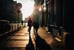 Back to school (ewitsoe) Tags: september light backtoschool students kids sidewlak street urban city swmarcin children offtoschool school poznan poland ewitsoe nikon sun sunny sunlight shadows bright moment capture series