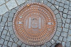 Gullydeckel in Ilmenau (German Circle) Tags: landschaft landschaften landscape landscapes cityscapes thüringen gully ilmenau