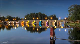 Stone Bridge, Karlstad, Sweden
