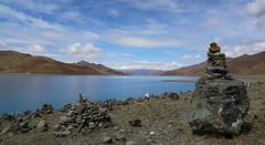 Yamdrok Lake - Tibet (Sjak11) Tags: yamdorklake tibet sony