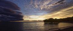 Darwin Eastpoint (Conundrum75) Tags: storm clouds sea trees sunset rain darwin eastpoint wet season weather