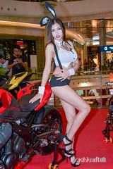 Garfield (krashkraft) Tags: 2015 allrightsreserved bangkok krashkraft motorbike terminal21 thailand beautiful beauty boothbabe gorgeous pretty พริตตี้ เซ็กซี่
