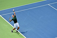 Rogers Cup in Toronto (tmo222) Tags: tennis rogerscup avivacentre toronto djokovic summer sports serve shadow