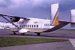 G-BJLK Short 330 Gill air CVT 09-04-88 (cvtperson) Tags: gbjlk short 330 gill air coventry cvt egbe