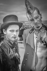 MeraLuna_2018 (65) (uwesacher) Tags: sw bw einfarbig monochrom niedersachsen mèraluna wolken sonne flughafen hildesheim 2018 luna mera himmel personen porträt kostüm punks