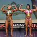 Womens Bodybuilding Masters 2nd Michaud 1st Lutzer