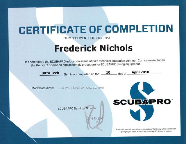 Scubapro Reg Service08282018_0013