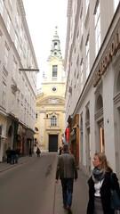 Images of Vienna #10 (jimsawthat) Tags: streetscene church architecture oldtown vienna austria urban
