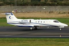 9H-MRQ (GH@BHD) Tags: 9hmrq learjet learjet35a l35 l35a epsilonaviation belfastcityairport bizjet corporate executive aircraft aviation