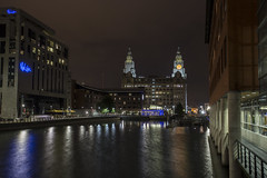 Liver Building (georgehuthart) Tags: nightshooters nightshot liverpool liverbirds liverbuilding lowlightphotography canonimage canonpicture canonlens eos5d mersey rivermersey merseyferry malmaison