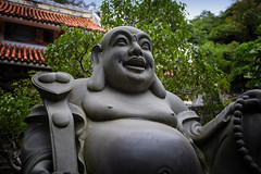 Budai (The Laughing Buddha) On Marble Mountain, Danang, Vietnam (El-Branden Brazil) Tags: marblemountains budai laughingbudda temple vietnam vietnamese bodhisattva buddhism buddha sacred religion holy mystical southeastasia danang da nang