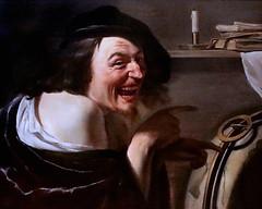 IMG_1136A Johannes Moreelse 1602-1634. Utrecht Democritus Vers 1630  Utrecht Centraal Museum (jean louis mazieres) Tags: peintres peintures painting musée museum museo paysbas netherlands utrecht centraalmuseum johannesmoreelse