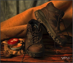 We Enjoyed The Mud Free Summer.. (Picture post.) Tags: stillife boots