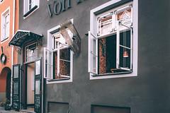 *** (donnicky) Tags: tallin architecture blade building city door entrance nopeople old outdoor publicsec restaurant summer travel vacation wall windows tallinn harjumaakond estonia ee