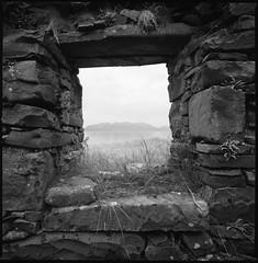 The Isle of Skye from Samhnan Insir (Mark Rowell) Tags: isleofrum samhnaninsir skye highlands scotland hasselblad 903 swc fuji acros blackandwhite bw 6x6 mediumformat film