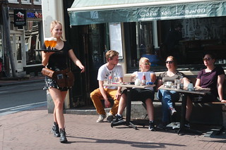 Een zomerdag in Amsterdam