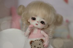 New girl : Jomee Loongsoul (Loony-Doll) Tags: loongsoul jomee loongsouljomee mouse mushroom doll bjd dolls makeup fullset glasseyes eyes wig