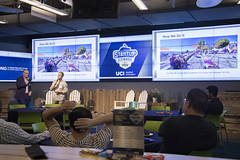 _L7A7671 (uci_innovation) Tags: startupscrimmage football mondaynightfootball mnf halftime pitches dng nec alcazar docbot immerse opsguru uci cove uciappliedinnovation networking entrepreneurs thebeach startup