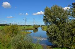 LANDSCAPE (JaapCom) Tags: jaapcom landscape clouds water trees dutchnetherlands holland wapenveld spiegeling reflection