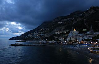 La playa de Amalfi