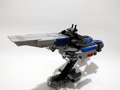 Lego Moc - Macross / Robotech SDF-1 (c_s417) Tags: macross lego robotech sdf sdf1 vf1j vf mech mecha brick moc spaceship transform japanese animation cartoon war robot 超時空要塞