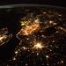 Western Europe at Night