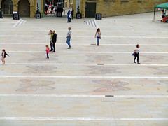 Giant butterflies at the Piece Hall! (Chris Hester) Tags: 11465p halifax piece hall