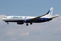 "BLUE  AIR / B 737-80 WL   YR-BMJ  ""leased by LOT"" / LEBL - BCN / juin 2018 (gimbellet) Tags: canon nikon spotting spotter boeing bcn barcelone barcelona elprat lebl planes transport transportation a330 a380 a320 airplanes a340 aviation aircraft avions airbus atr aeroport airport a350 aeronautique airplane aeroplane b737 b737800wl"