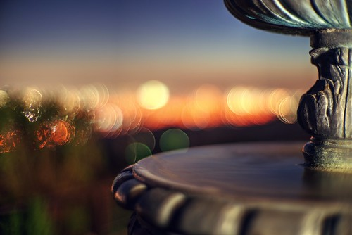 Bubbly city lights