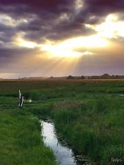 Curvature Of Spacetime (Neoapril) Tags: horizon horizont mystic mystisch landschaft twilight sunlight sun himmel licht wolken light sky clouds landscape