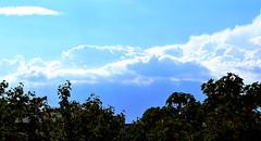 Cerulean Horizon (Robin Shepperson) Tags: storm clouds horizon nature weather light sunlight summer heat blue aqua rays d3400 nikon berlin germany