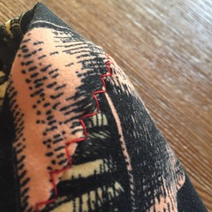 French Fries / Great Thighs (kellyhogaboom) Tags: sewing homesewn handsewn bespoke bespokehogaboom vegan vegantailor thevegantailor knit knitfabrics knits legwarmers