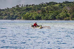 Outrigger on the Water 3279 (Ursula in Aus - Travelling) Tags: jimclinephototour milnebay png papuanewguinea tawali
