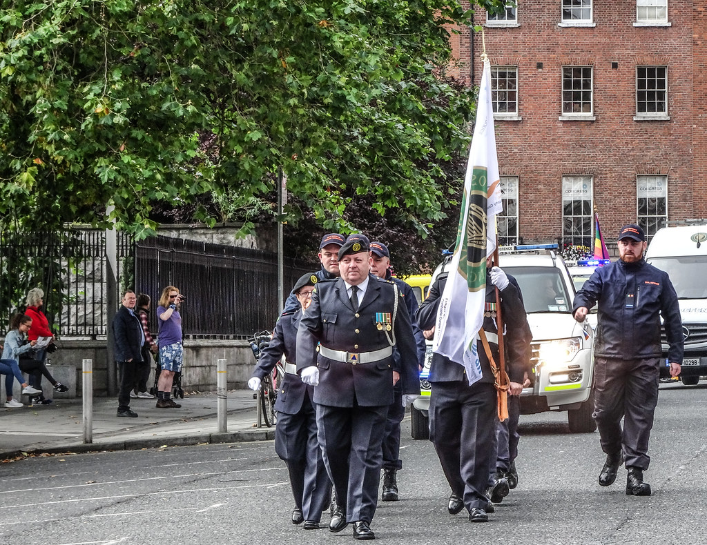 NATIONAL SERVICES DAY [PARADE STARTED OFF FROM NORTH PARNELL SQUARE]-143671