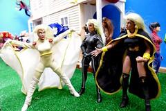 Happy Labor Day 2018 09 (MayorPaprika) Tags: marvel toybiz famouscovers panasoniclumixdmcfz1000 112 custom diorama toy story paprihaven action figure set storm spidergirl nightcrawler