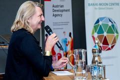 Karin Kneissl nimmt an den Politischen Gesprächen beim Europäischen Forum Alpbach 2018 teil. (Österreichisches Außenministerium) Tags: empowerment women nachhaltigkeitsziele politischegespräche karinkneissl frauen forumalpbach sdg youth jugend uno tirol österreich