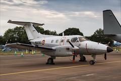 Embraer EMB 121AN Xingu - 01 (NickJ 1972) Tags: riat raf fairford royalinternationalairtattoo airshow 2018 aviation embraer emb121 xingu 77